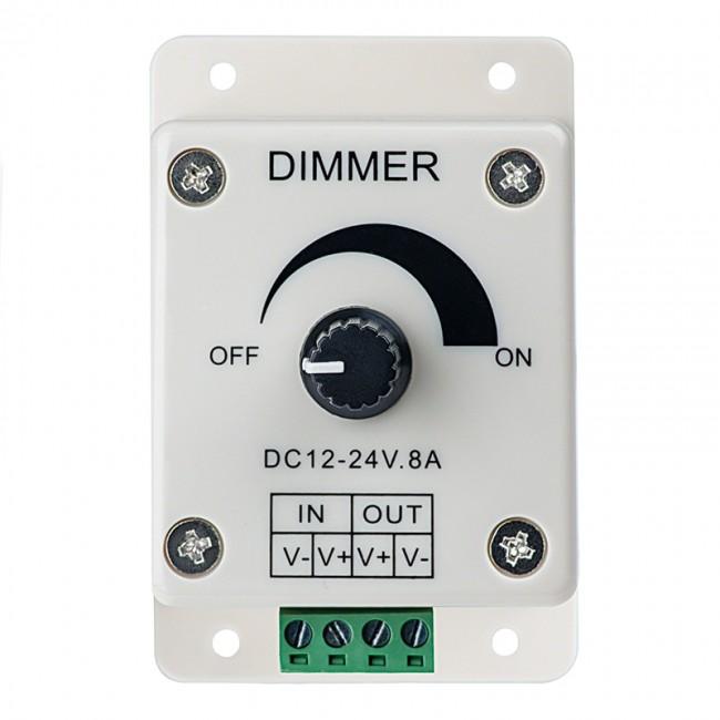 8A LED Dimmer12~24 Volt DC Single Color - LED lights,RGB led
